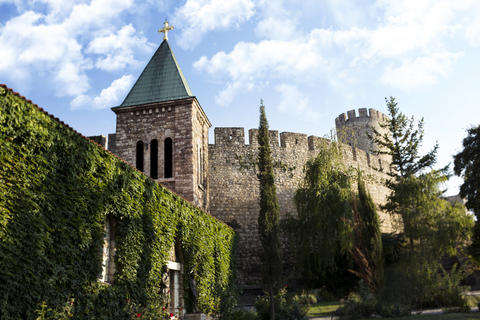 Kalemegdan Fortress And Church Called Ruzica In The City Of Belg Foto