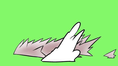 Manga effect Mach ground Animation