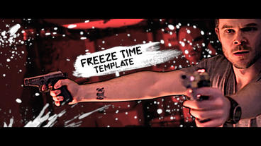 Freeze Time Action Trailer Premiere Pro Template