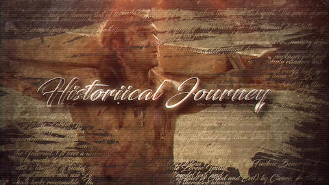 Historical Journey After Effectsテンプレート