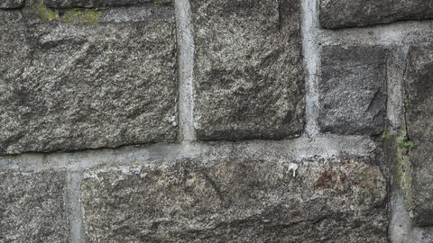 Medieval stone wall. A masonry wall. Stone wall texture background Live Action