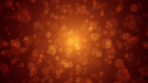 Soft Red-Gold Abstract bokeh holiday background Animation