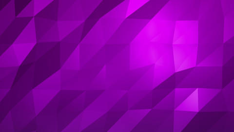 Purple Low Poly Abstract Background. Seamlessly Loopable Animation