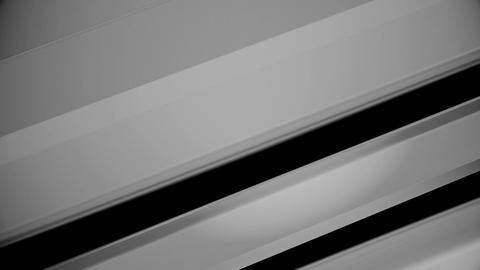 Abstract Black-white Background reflection form. Seamlessly Loopable Animation