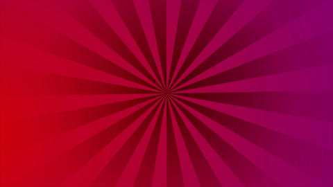 Pop art retro red purple beams video animation Animation