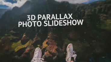 3D Parallax Photo Slideshow Premiere Pro Template