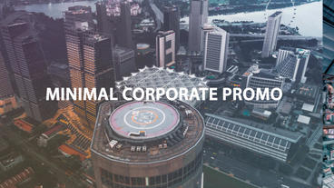 Minimal Corporate Promo After Effects Template