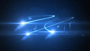 Light Streak Opener Logo After Effects Template