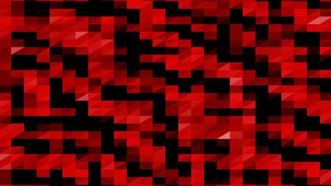 Polygonal Geometric Background Seamless Loop 4K Stock Video Footage