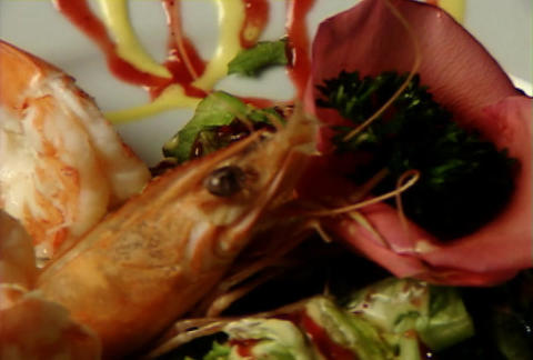 Shrimps display Archivo