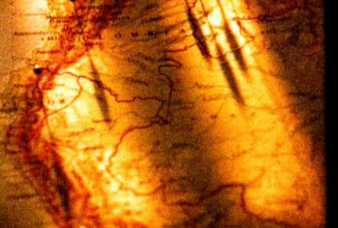 Texture of geographical map Image