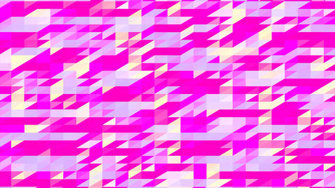 Abstraction Pattern Of Geometric Shapes Stock Video Footage