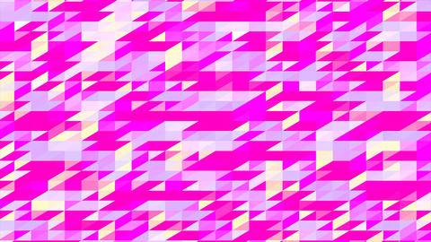 Abstraction Pattern Of Geometric Shapes Footage