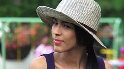 Attractive Hispanic Female Footage