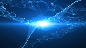Light Streak Wave Logo After Effects Template