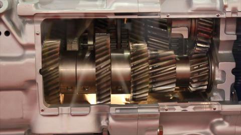 engine gears Footage