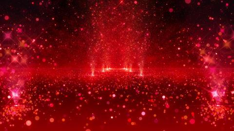 SHA Red Kirakira Road Effects CG動画素材