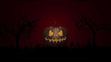Halloween night club promo 1 Apple Motion Template