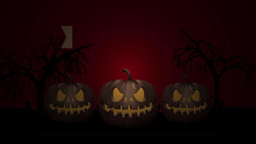 Halloween night club promo 1 Apple Motion Template