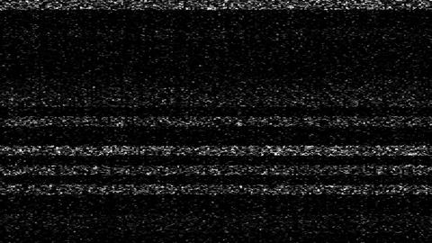 Tv Screen White Noise Static Footage