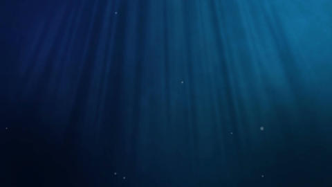 Blue Underwater Loopable background Archivo