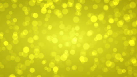 Soft gold bokeh, Abstract holiday background Animation