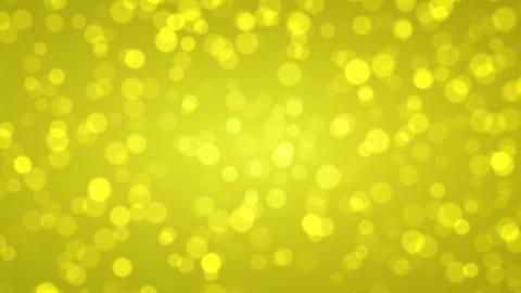 Soft gold bokeh, Abstract holiday background Animación
