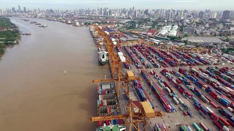 Aerial View of Dockyard Image
