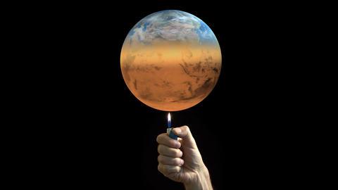 Global warming Animación