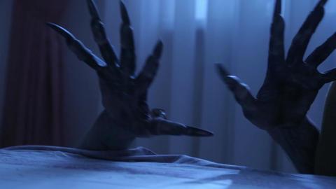Nightmarish Monster hands Footage