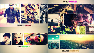 Photo Collage Slideshow (31 photo/Video) After Effects Templates