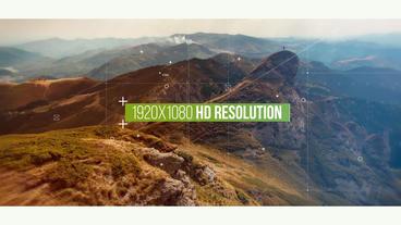 Digital Slideshow 애프터 이펙트 템플릿