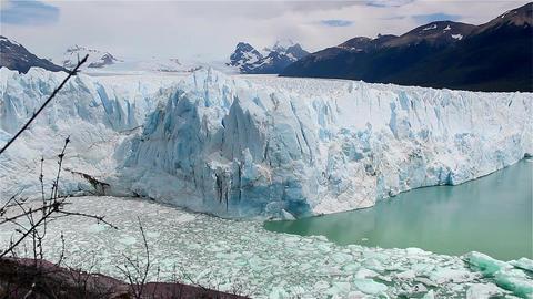 Perito Moreno Glacier, Before The Break Footage