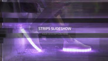 Future Strips - Slideshow Plantilla de After Effects