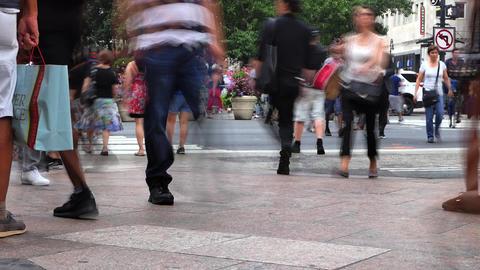 Crosswalk Crowd 画像