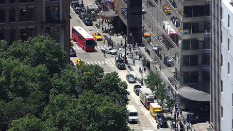 Midtown Traffic in NYC Image