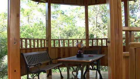 Garden living room Footage