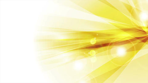 Orange shiny abstract sunbeams animated background Animation