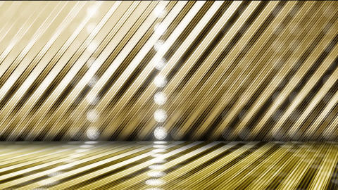 GOLD-LED WALL1-3 CG動画