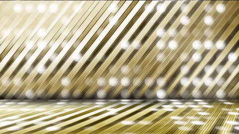 GOLD-LED WALL1-5 CG動画