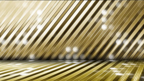 GOLD-LED WALL1-6 CG動画
