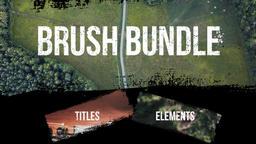 Brush Bundle - Titles& Elements Premiere Pro Template