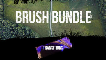 Brush Bundle - Transitions Premiere Pro Template