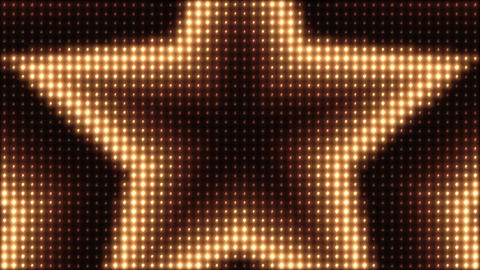 Stars Blinking Lights Board VJ Loop Background Animation