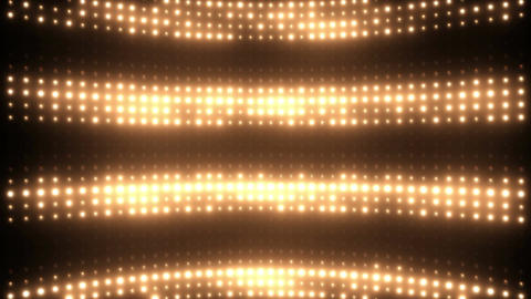 Wall of Blinking Lights VJ Loop Animación