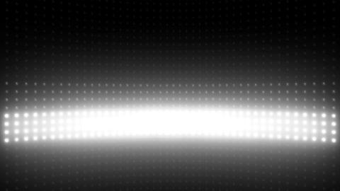 Wall of Lights Flash White VJ Loop Image