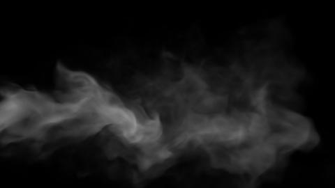 Smoke Steam Slow 03 Animation