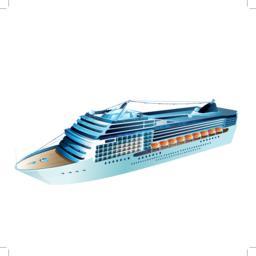 Cruise Liner Illustration Vektor