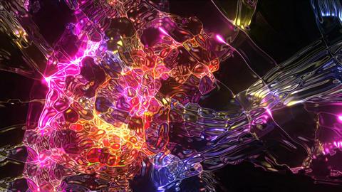 Plasma Jets HD 02 Vj Loop Animation