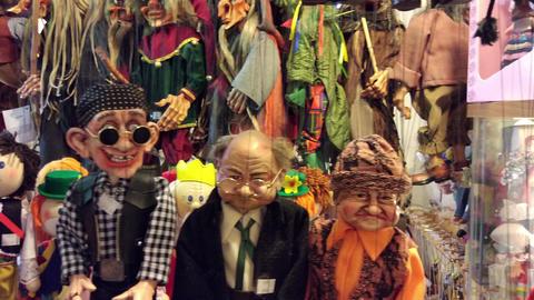 Marionette shop in Prague, Czech Republic Archivo
